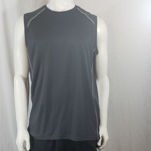Men bcg tru-wick sleeveless active shirt